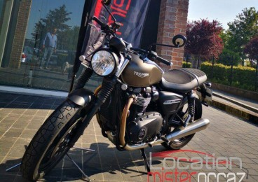 Location moto triumph street twin 900